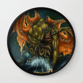 That is Not Dead Which Can Eternal Liw Wall Clock