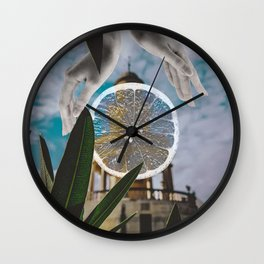 Citrus Village Wall Clock