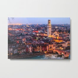 Verona's Lights Metal Print