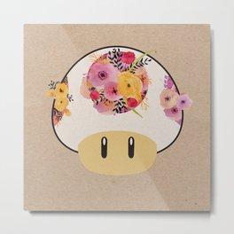 Mushroom in Bloom Metal Print