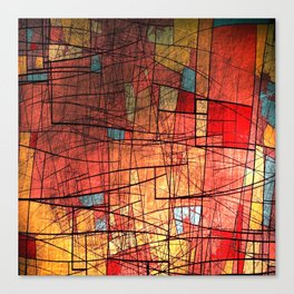 COLOR LINES Canvas Print