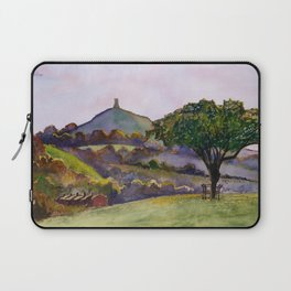 Glastonbury Tor - Somerset, England Laptop Sleeve