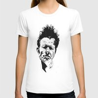 tom waits T-shirts featuring Tom Waits by Giorgia Ruggeri