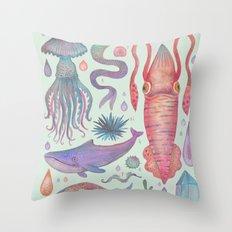 Et coloris natura IX Throw Pillow