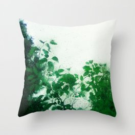 Spring Fresh Rain Throw Pillow