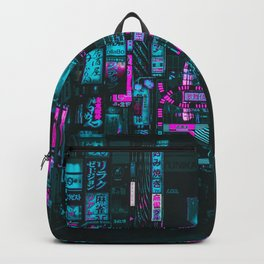 Cyberpunk City Backpack