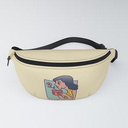 Grow Is Not Comfortable Fanny Pack