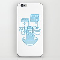 ramen iPhone & iPod Skins featuring Ramen Set by Design Made in Japan