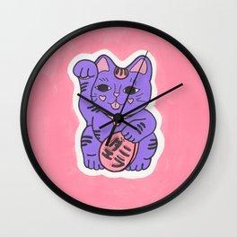 Manekineko 2 Wall Clock