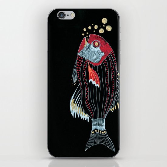 Happy New Fish  iPhone & iPod Skin