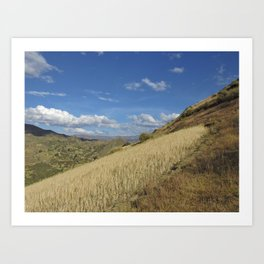 beautiful mountains Art Print
