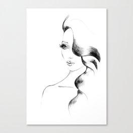 Kim Canvas Print