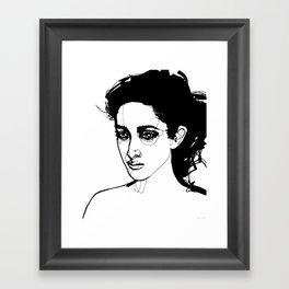Past Tense Framed Art Print