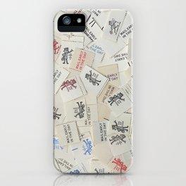 Vintage Postal Ephemera - Mr. Zip iPhone Case