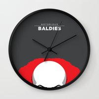 pennywise Wall Clocks featuring Pennywise by Mr. Peruca