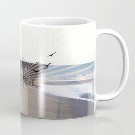 Victorian Pier - sunset graphic Coffee Mug