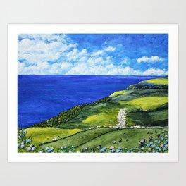 São Miguel Island, Azores, Portugal Art Print