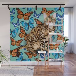 layla butterflies Wall Mural