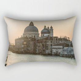 Sunrise over Venice Rectangular Pillow