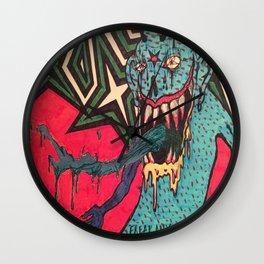 DEMON GOD 'FREAK ANY HO' Wall Clock