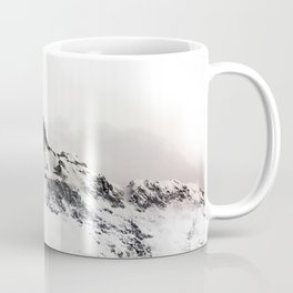 SNOWY - MOUNTAINS - PHOTOGRAPHY - WHITE Coffee Mug