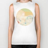 eternal sunshine Biker Tanks featuring Eternal Sunshine of the Spotless Mind by Itxaso Beistegui Illustrations