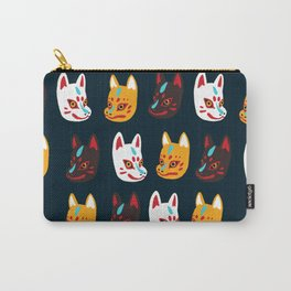 Kitsune Masks Carry-All Pouch