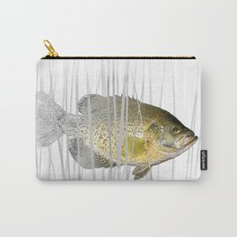 Black Crappie Fish Carry-All Pouch