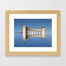 Once upon a time in Budapest Framed Art Print