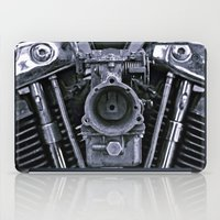 motorcycle iPad Cases featuring MOTORCYCLE  by ALX RUTECKI