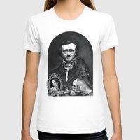 edgar allan poe T-shirts featuring Edgar Allan Poe Portrait by Eeriette