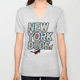The Dude NYC. Unisex V-Neck