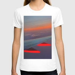 On the Wing of a Sunset T-shirt