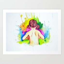 All the magic I've known Art Print