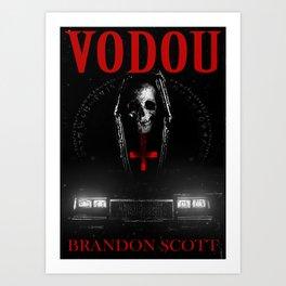 Vodou Book Cover Concept Art Art Print