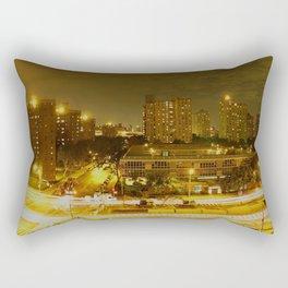 New York Skyline 2 Rectangular Pillow