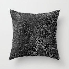 monomarble Throw Pillow