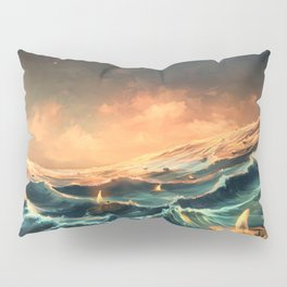 Refugees in a nutshell Pillow Sham