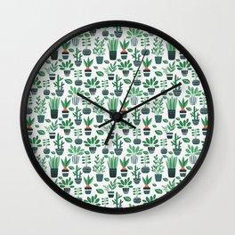 Ms Botany Greenery Wall Clock