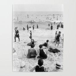 Long Beach California Vintage Photo, 1920s Poster