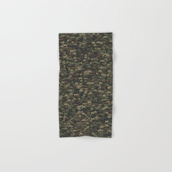 Invaders camouflage Hand & Bath Towel