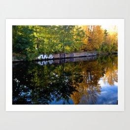 canal art Art Print