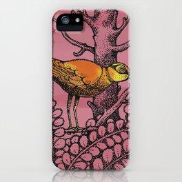 ORANGEBIRD iPhone Case
