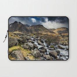 Glyderau Mountain Winter Laptop Sleeve