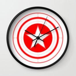 Capitaine Amérique Wall Clock