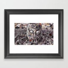 Brain Lapse (Still Frame 2) Framed Art Print
