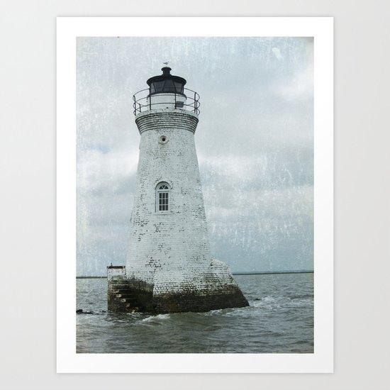 Little  lighthouse Art Print