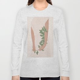 Holding on to a Branch Long Sleeve T-shirt
