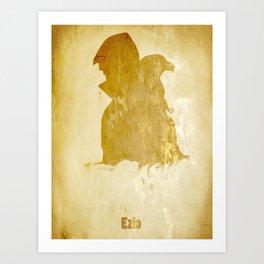 Ezio from Assassin's creed Art Print