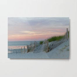 Sunset on Cape Cod Metal Print
